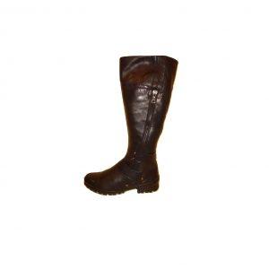 Ilgaauliai moteriški juodi batai, GABOR, 37 dydis