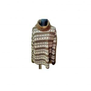 Moteriškas megztinis su kaklu, LEDY, 50 dydis
