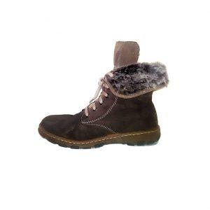 Moteriški žieminiai rudi batai, RIEKER, 39 dydis