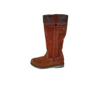 Bordo moteriški ilgi auliniai batai, TAMARIS, 39 dydis