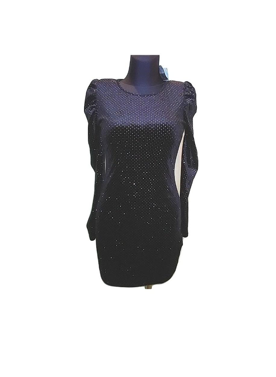 moteriska-juoda-blizgi-suknele-ATMOSPHERE-10dydis