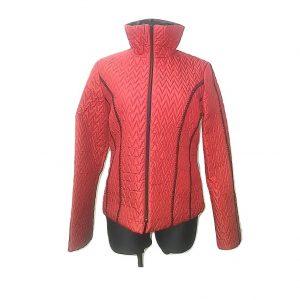 Moteriška lengva raudona striukė, 40 dydis