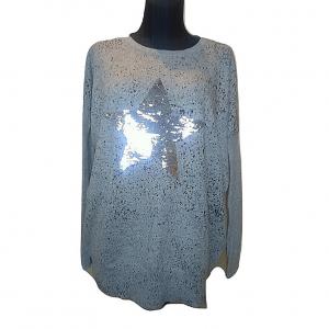 Moteriška pilka palaidinė su žvaigžde, CAITLYN, 42 dydis