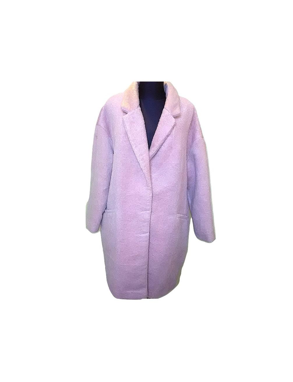 Moteriškas rožinis šiltas ilgas paltukas, ATMOSPHERE, 16 dydis