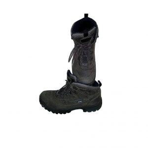 Vyriški tamsiai rudi batai, ECCO, 45 dydis