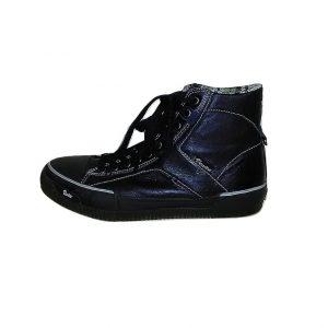 Vyriški juodi sportiniai batai su raišteliais, VENICE, 41 dydis
