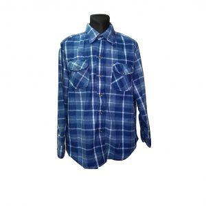 Vyriški languoti mėlyni marškiniai, XXL dydis