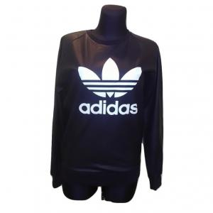 Juodas moteriškas džemperis, ADIDAS, 32 dydis