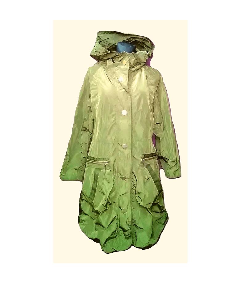 Moteriškas pavasarinis ilgas paltas, TARA, 40 dydis