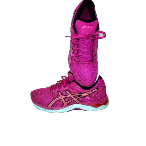 Moteriški rožiniai sportbačiai, ASICS, 38 dydis
