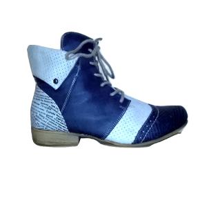 Moteriški tamsiai mėlyni batai, RIEKER, 39 dydis