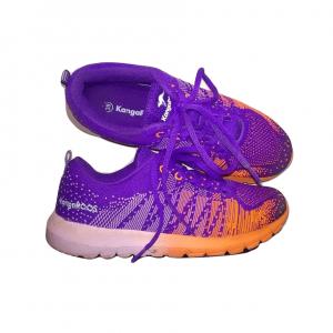 Moteriški violetiniai sportiniai bateliai, KANGAROOS, 39 dydis