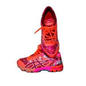 Oranžiniai moteriški sportbaciai, ASICS, 39 dydis