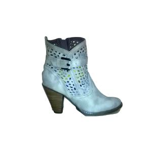 Pilki pavasariniai moteriški batai su kulnu, MARCO TOZZI, 40 dydis
