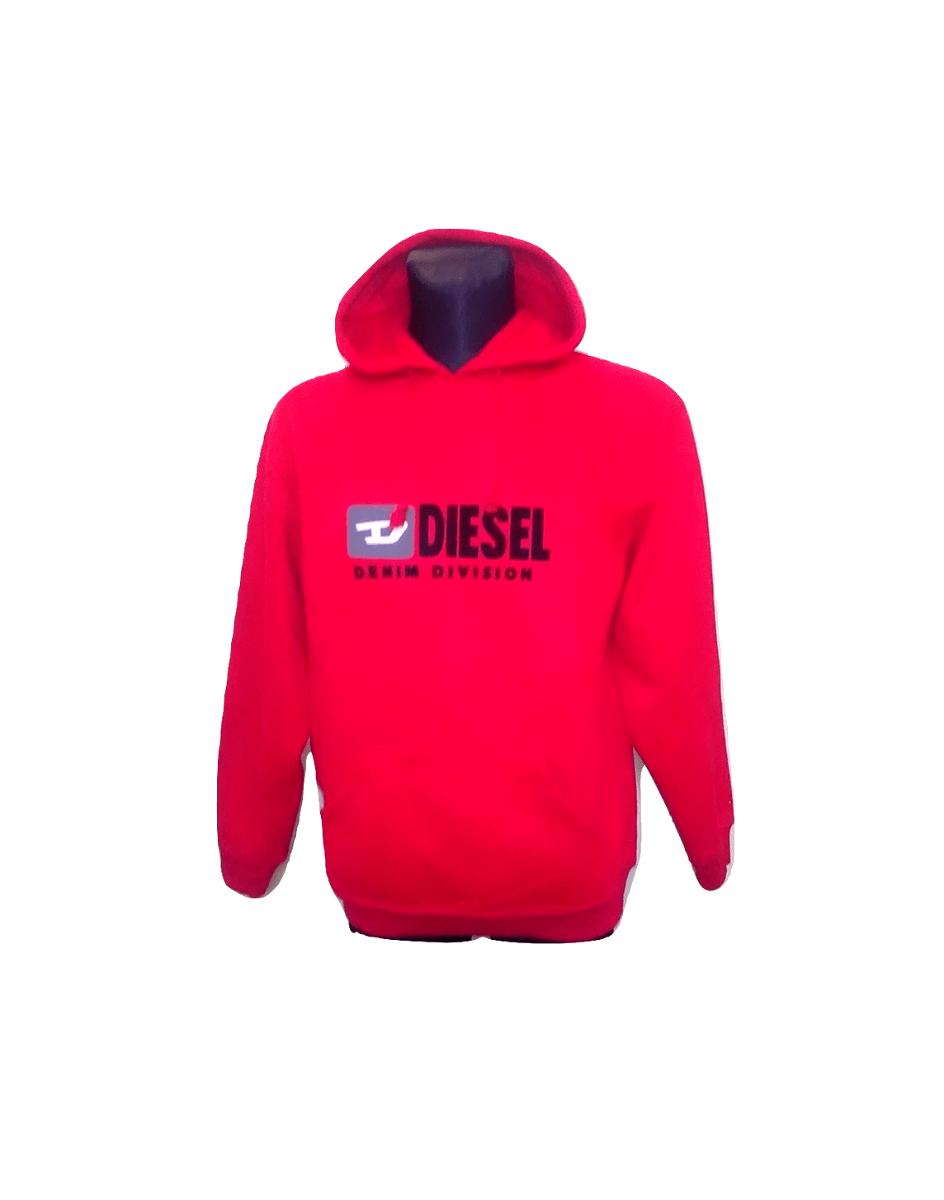 Raudonas vyriškas džemperis, DIESEL, XL dydis
