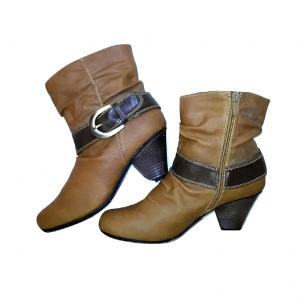 Rudi auliniai moteriški batai, KAUFA CHOE, 38 dydis