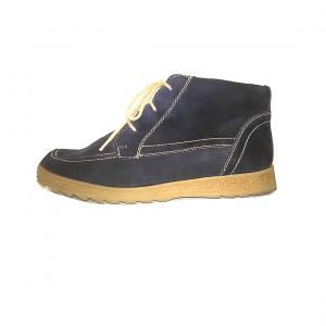Tamsiai mėlyni moteriški batai, 5 dydis