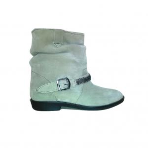 Zomšiniai šviesūs moteriški batai, PROMOD, 37 dydis