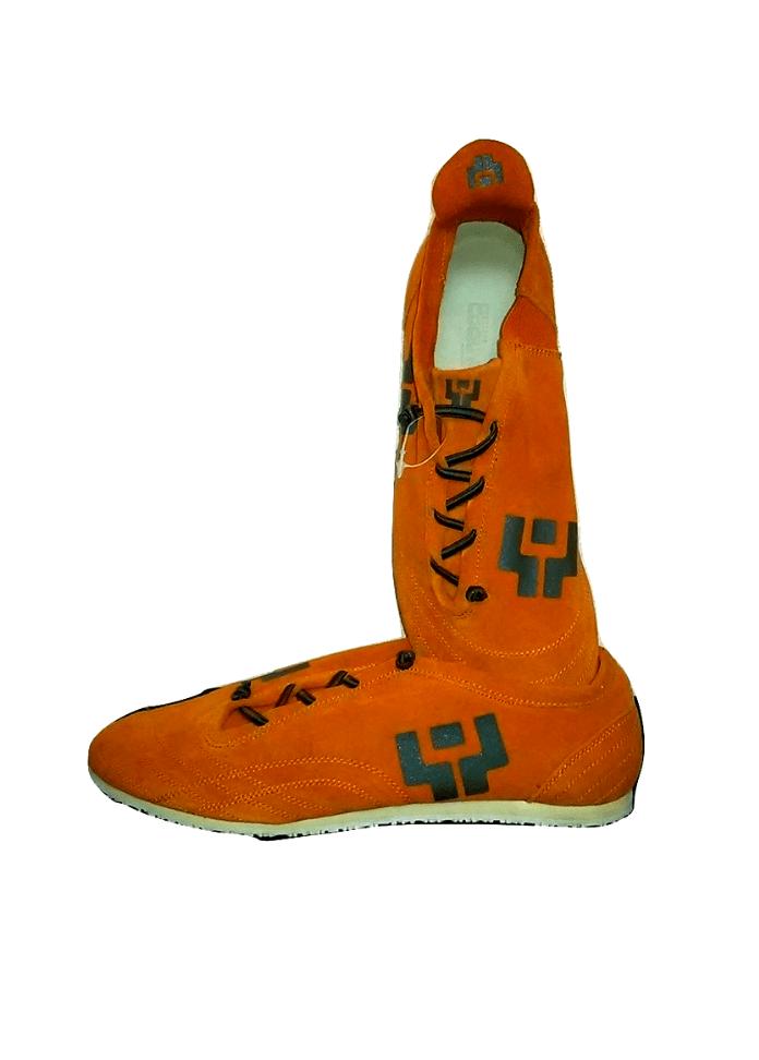 Oranžiniai sportiniai bateliai, TIGER, 45 dydis