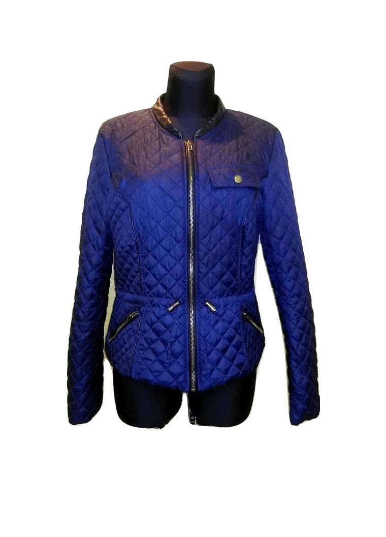 Tamsiai mėlyna moteriška pavasarinė striukė, VEROMODA, XL dydis
