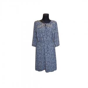 Pilka gėlėta suknelė, AVENTURA, 28 dydis