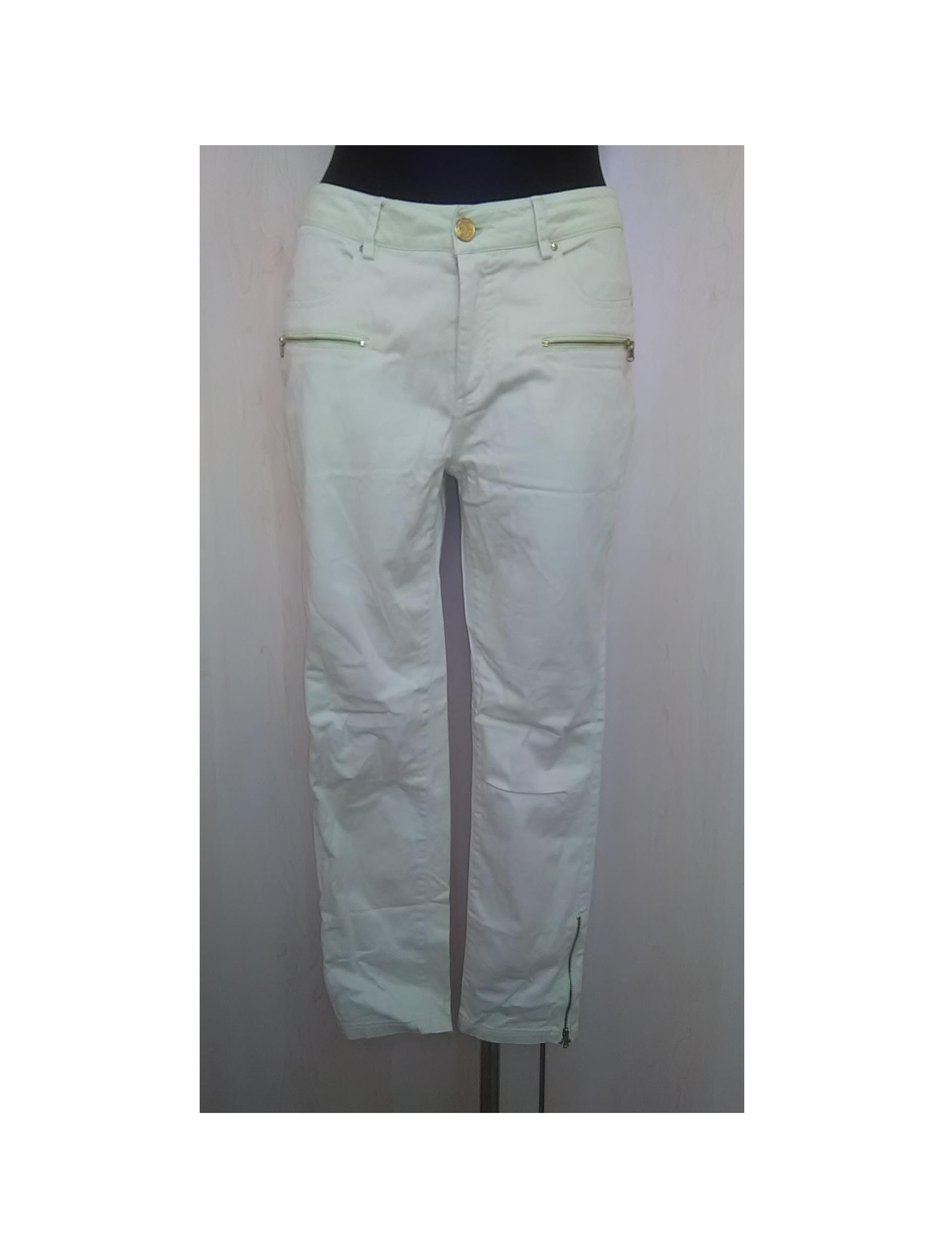 Šviesūs moteriški vasariniai džinsai, CREATED BY CHIC, 38 dydis