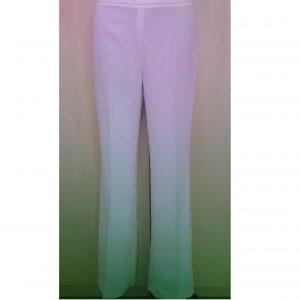 Moteriškos vasarinės baltos kelnės