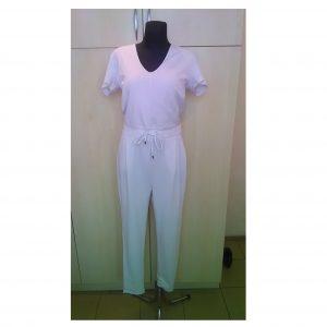 Baltas moteriškas kombinezonas, AMISU, 42 dydis