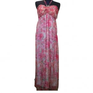 Ilga vasarinė gėlėta suknelė be rankovių, MAPP, M dydis