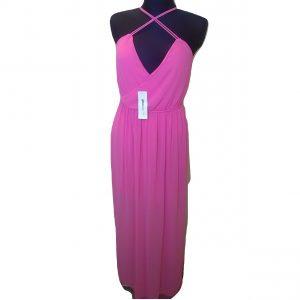 Ružava ilga vasarinė suknelė, GINATRICOT, 36 dydis