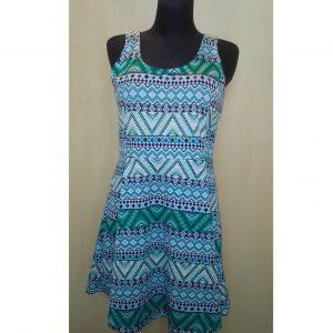 Raštuota moteriška vasarinė suknelė, H&M DIVIDED, 46 dydis