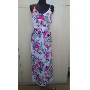 Ilga gėlėta vasarinė suknelė, H&M, 36 dydis