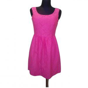 Ružava trumpa vasarinė suknelė, ONLY, 36 dydis