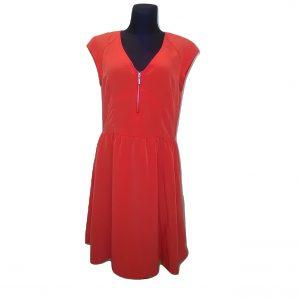 Raudona vasarinė suknelė, H&M, 44 dydis
