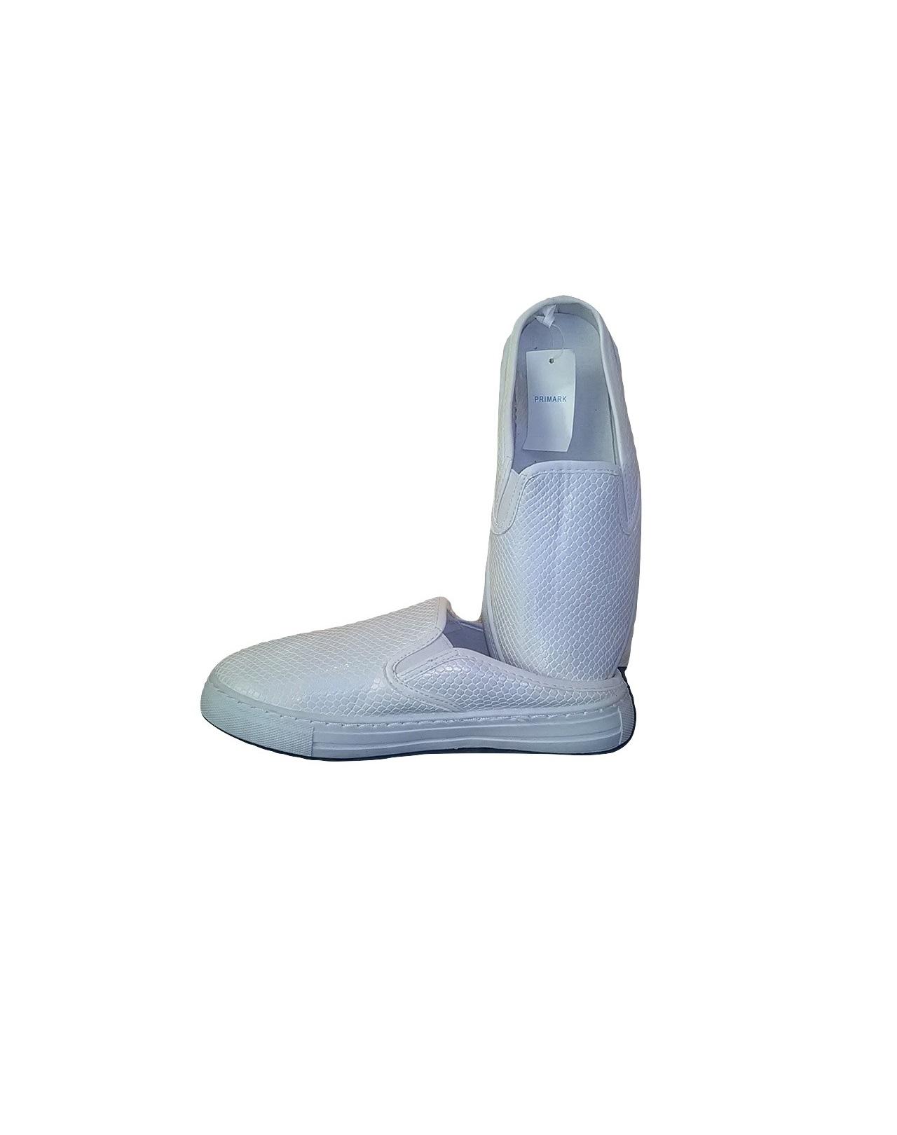 Balti moteriški bateliai-šlepetės, ATMOSPHERE, 38 dydis