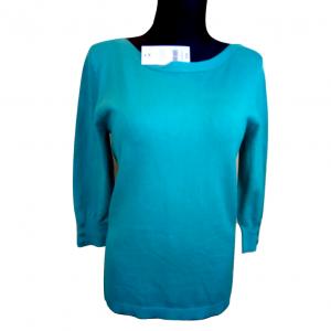Naujas žalsvas ilgomis rankovėmis megztinis PAPAYA, 14 dydis