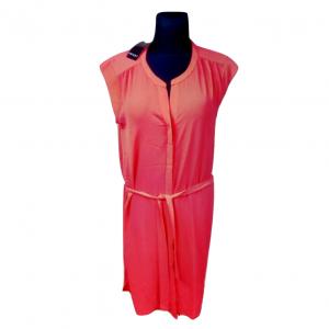 NAUJA raudona suknelė ES MARA, dydis - 44, 100% sintetika, be rankovių, truputį tampri, ilgis - 90cm. pečiai - 42cm. liemuo - 60cm.