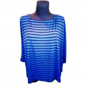 Moteriška mėlyna juostuota palaidinė, NEXT, dydis 40