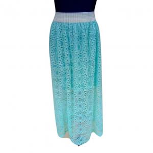 Ilgas šviesiai žalias sijonas, dydis 38