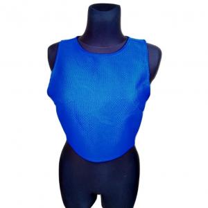 Moteriška mėlyna liemenė su užtrauktuku, FASHION UNION, dydis 38