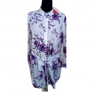 Nauja šviesi gėlėta ilgomis rankovėmis suknelė BILLIE FAIERS, 10 dydis