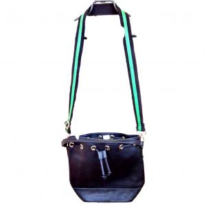 Moteriška juoda rankinė REDHERRING, pl.33cm. aukš.30cm.