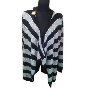 Dryžuotas megztinis/kardiganas, SOON, 12 dydis