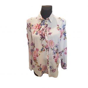Gėlėti vasariniai marškiniai, GEORGE, 38 dydis