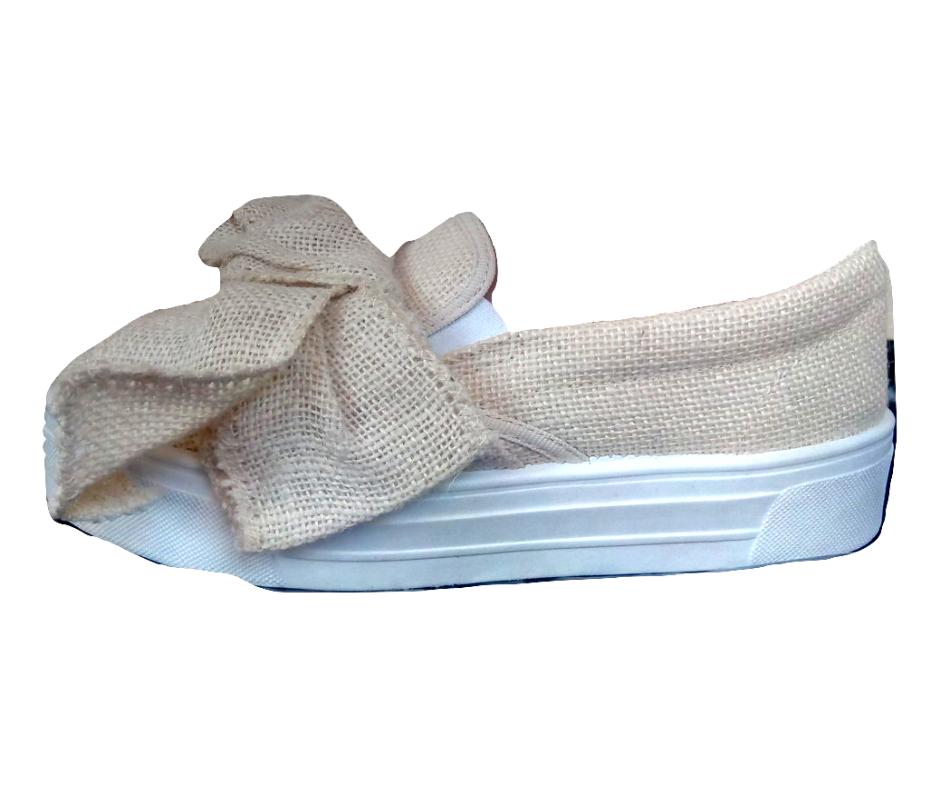 Moteriški vasariniai medžiaginiai šviesūs batai TOPSHOP, dydis 37