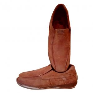 Vyriški šviesiai rudi be auliuko batai GALLUS,