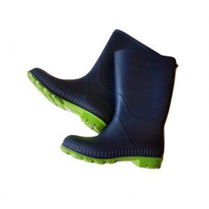 Tamsiai mėlyni guminiai batai (botai), 37 dydis