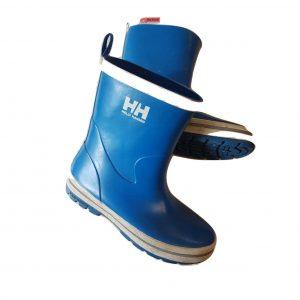 Mėlyni guminiai batai (botai), 34 dydis