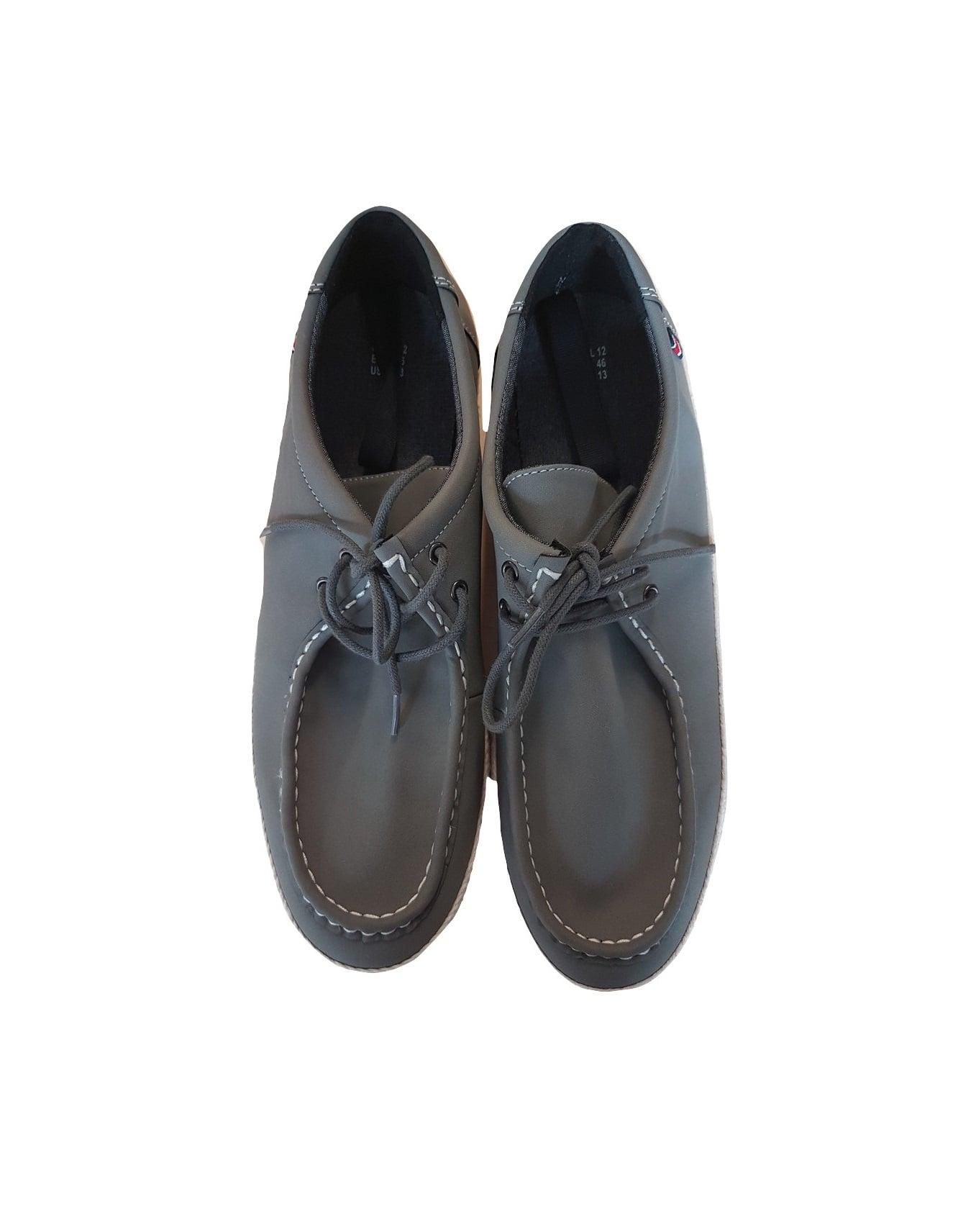 Pilki vyriški batai su raišteliais, Primark, 46 dydis