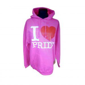 Rožinis moteriškas džemperis su kapišonu, AWD IS, L dydis